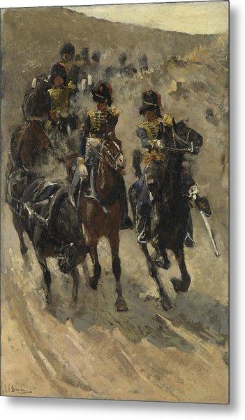 The Yellow Riders, George Hendrik Breitner, 1885 - 1886 Metal Print
