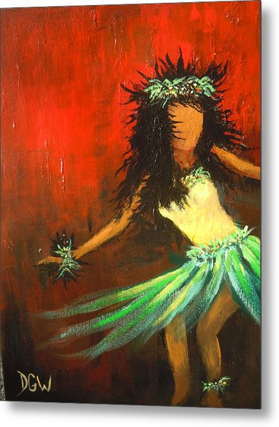 The Young Dancer Metal Print