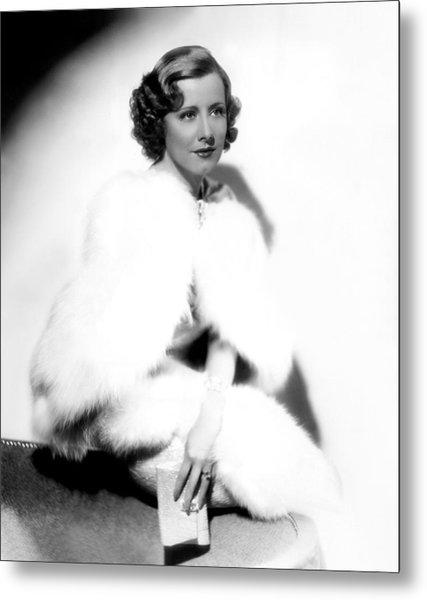 Theodora Goes Wild, Irene Dunne, 1936 Metal Print by Everett