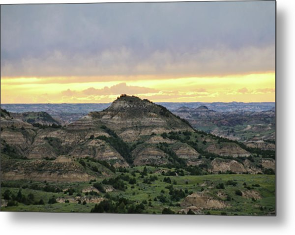 Theodore Roosevelt National Park, Nd Metal Print
