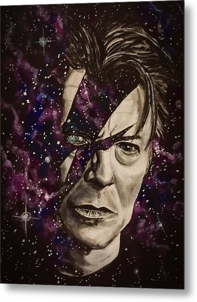 There's A Starman Waiting In The Sky Metal Print