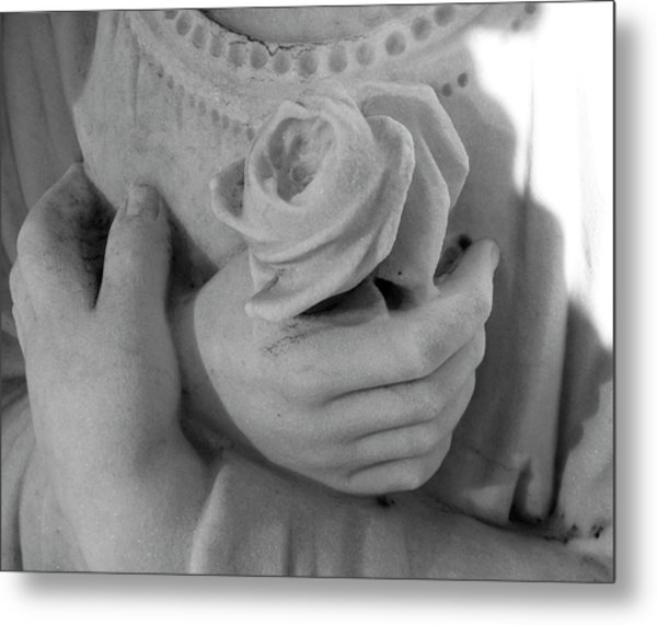 These Hands Metal Print by Barbara Palmer