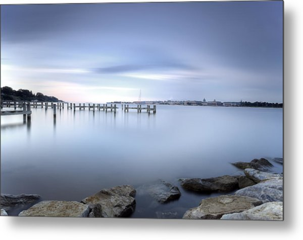 These Waters Are My Canvas Metal Print