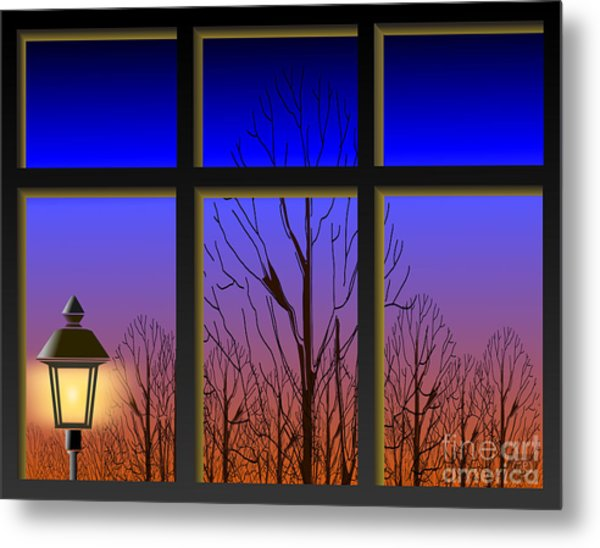 The Window II Metal Print