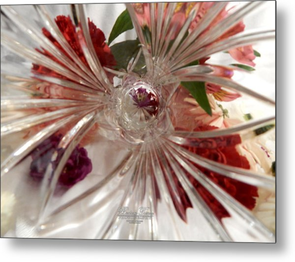 Think Outside The Vase #8801_0 Metal Print