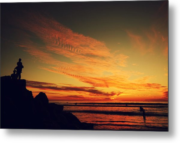 Thinking About Tomorrow Metal Print