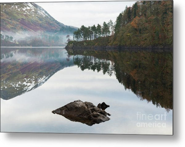 Thirlmere Hourglass Metal Print