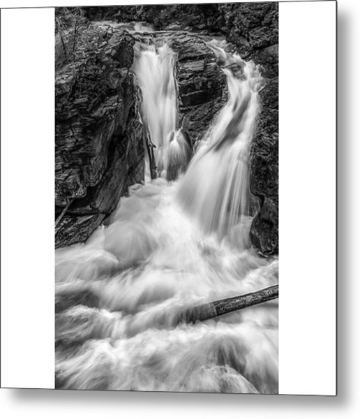 This Image Was Taken In Glacier Metal Print