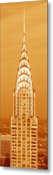 Chrysler Building At Sunset Metal Print