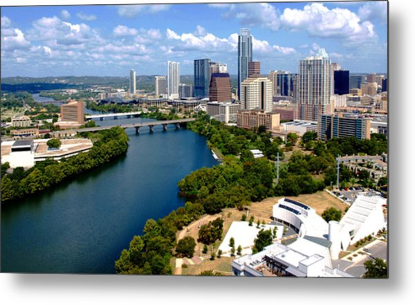 This Is Austin Metal Print