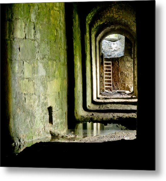 This Is The End. Abandoned. Metal Print