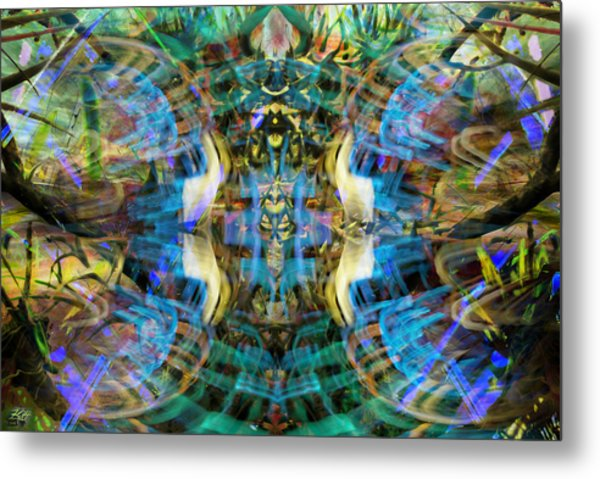 This Is The Line Of Division Metal Print