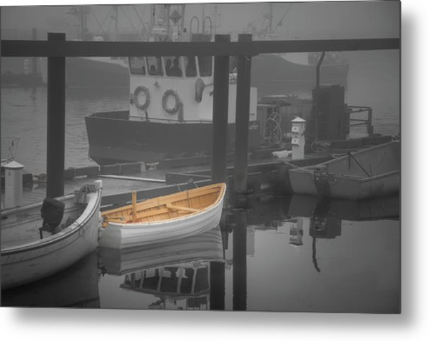 This Little Boat Metal Print