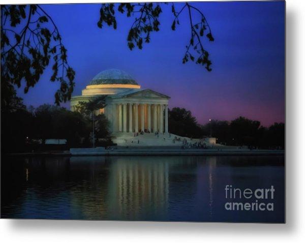 Thomas Jefferson Memorial Sunset Metal Print