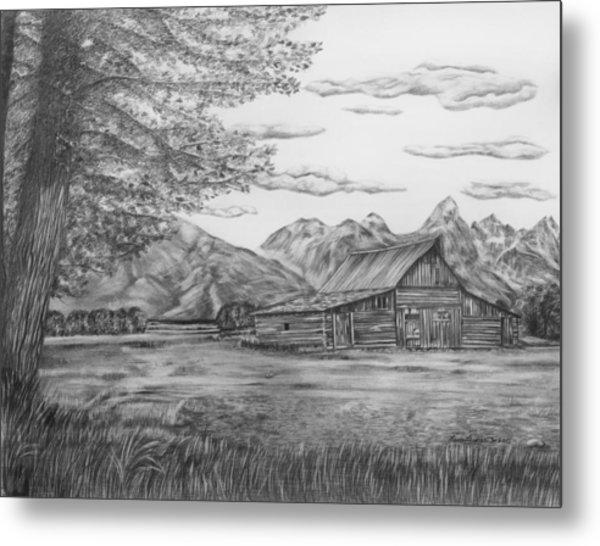 Thomas Moulton Barn Metal Print