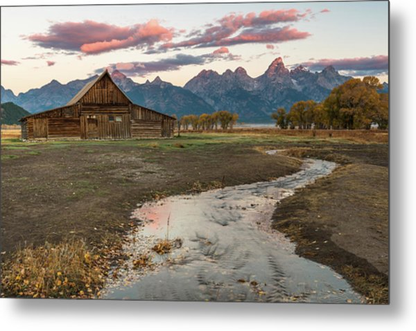 Thomas Moulton's Barn Metal Print