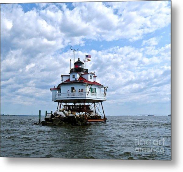 Thomas Point Lighthouse Metal Print