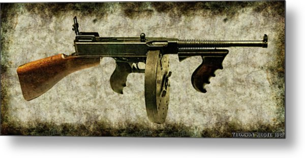 Thompson Submachine Gun 1921 Metal Print