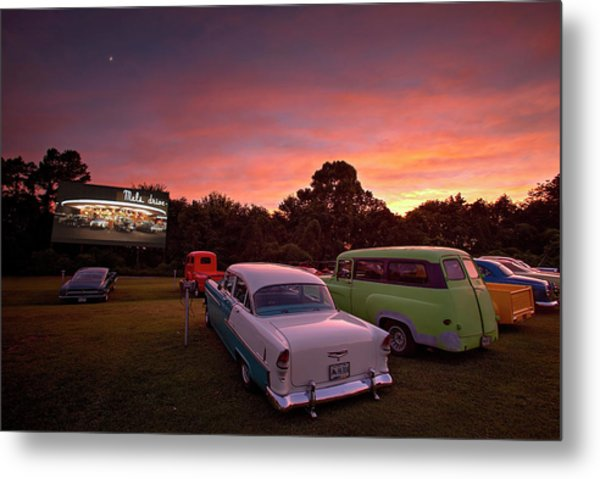 Those Summer Nights Metal Print