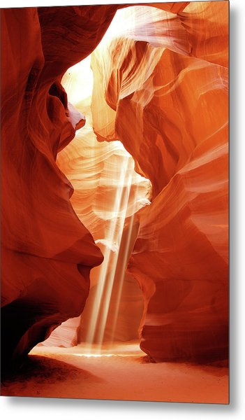 Metal Print featuring the photograph Three Beams by Norman Hall