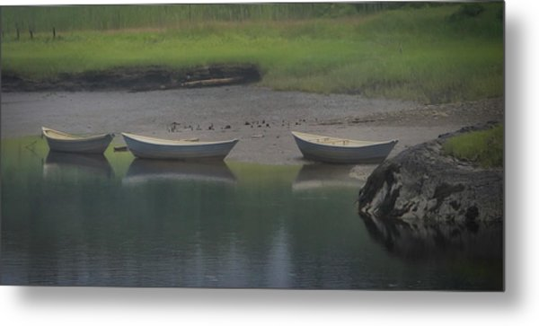 Three Dories Metal Print