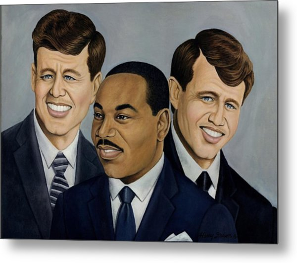 Three Fallen Soldiers   Metal Print by Henry Frison