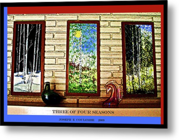 Three Of Four Seasons Metal Print