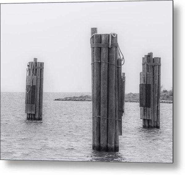 Three Pillars Metal Print