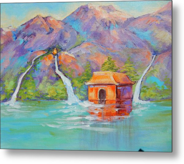 Three Sacred Waters Metal Print