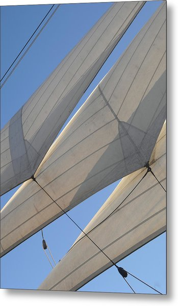 Three Sails Metal Print