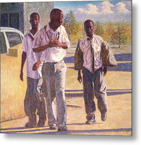 Three School Boys Metal Print