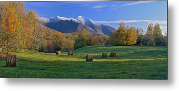 Three Seasons Mt. Mansfield Vermont Metal Print