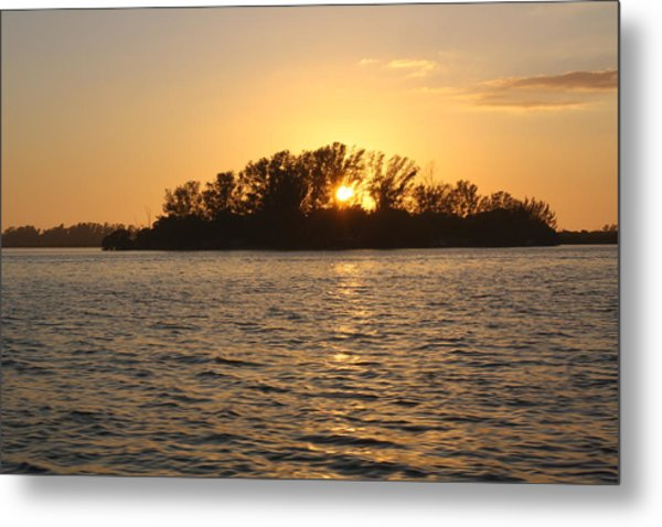 Three Sisters Sunset Metal Print by Tara Moorman Photography