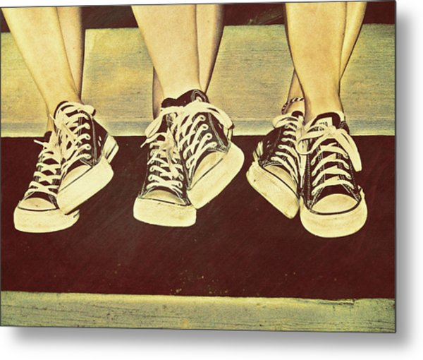 Three Stooges Metal Print by JAMART Photography