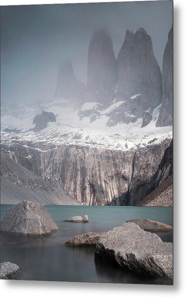 Three Towers, Chile Metal Print