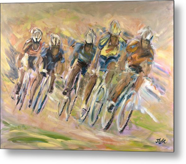 Thrill Of The Chase Metal Print