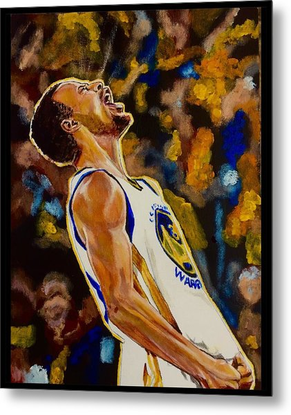Thrill Of Victory Metal Print