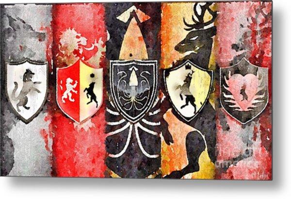 Thrones Metal Print