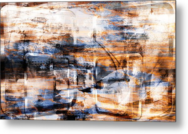 Through An Open Window.. Metal Print
