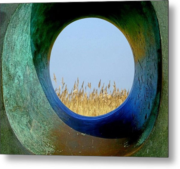 Through And Beyond Metal Print