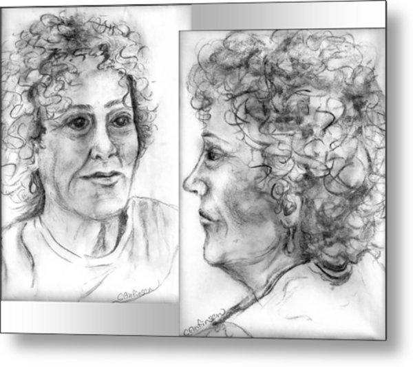 Through Her Eyes Metal Print by Carol Allen Anfinsen