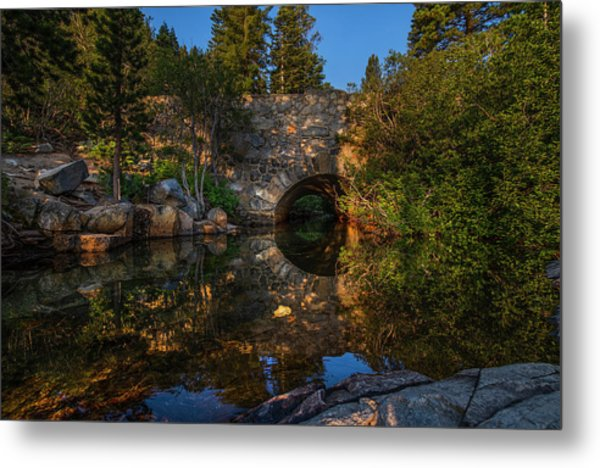 Through The Archway - 1 Metal Print