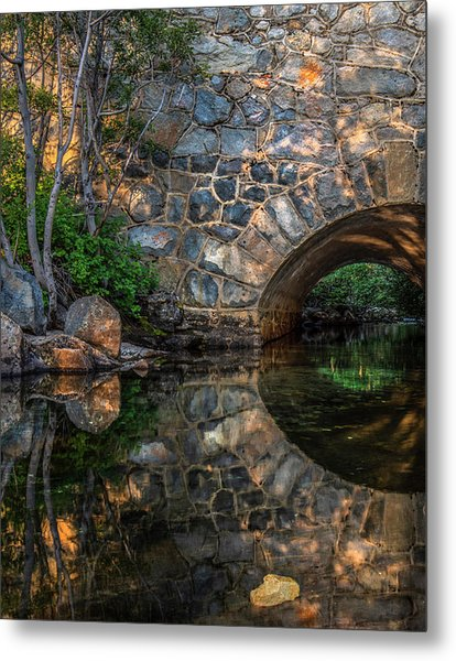 Through The Archway - 2 Metal Print