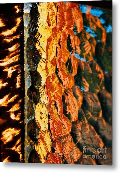 Through The Glass Metal Print by Hideaki Sakurai