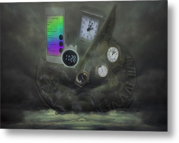 Through The Mists Of Time Metal Print