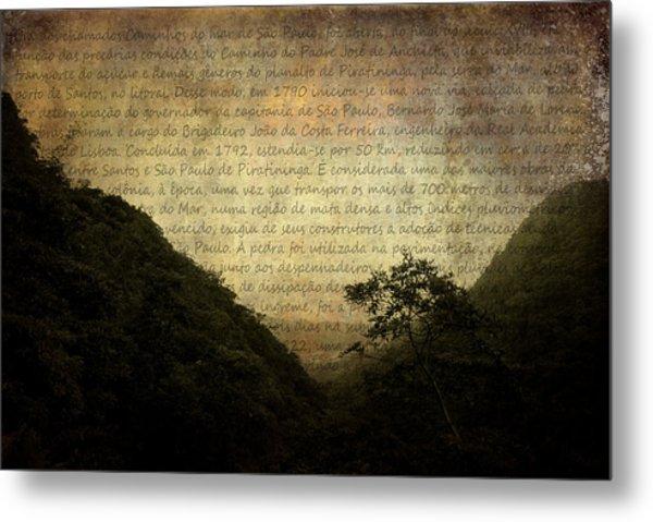 Through The Mountains Metal Print by Valmir Ribeiro