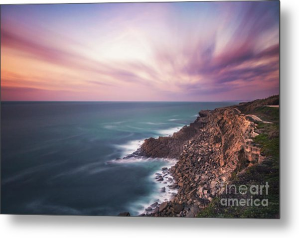 Through The Rays Of Infinity Metal Print