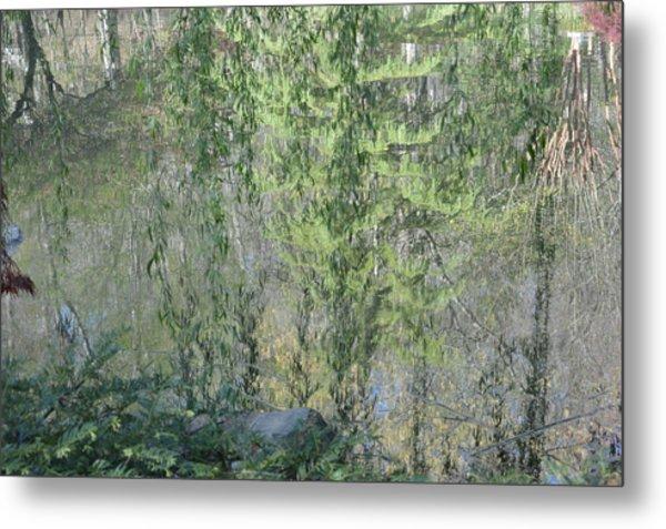 Through The Willows Metal Print