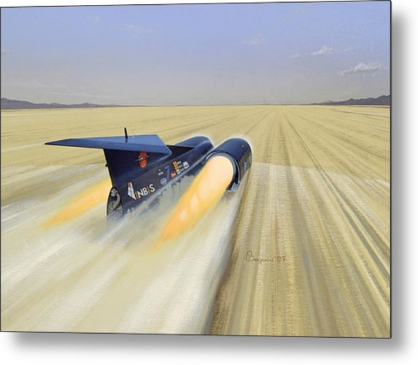 Thrust S S C Painting by Arthur Benjamins