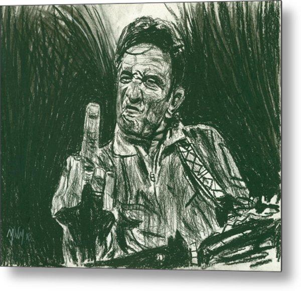 Thumbs Up Metal Print by Michael Morgan